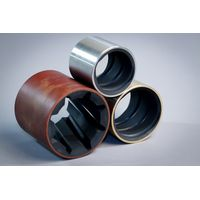 Marine water lubrication phenolic bearing fiber bushing for vessels