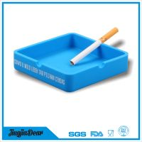 unbreakable custom unfired Silicone Cigarette Ashtray