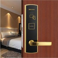 high quality cylinder operated mortice deadlock. hotel keyless door lock thumbnail image
