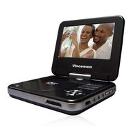 "7"" Portable DVD Player-VM-D7090"