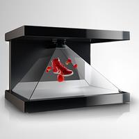 270°; 3D Pyramid Hologram Showcase thumbnail image