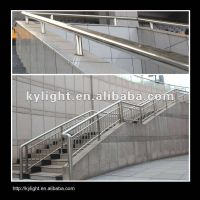 supply stainless steel composite pipe good for stair handrails,barrier
