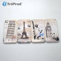 OEM Customized Printed Polycarbonate PC Smart Cell Mobile Phone Case for Apple iPhone 5/5s