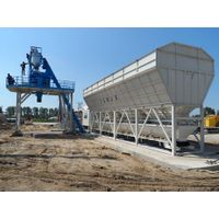 Easily Transported K-80 (80m3/h) Mobile concrete Plant