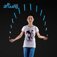 Unique new design color change children speed skipping jump rope crossfit