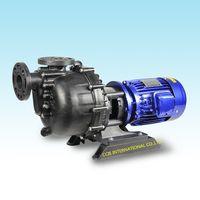 PP coaxial self priming acid/alkaline-resistant Mechamical seal pump (style IVAKI) thumbnail image