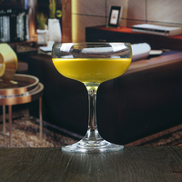 200ml Hand blown Bar set Crystal margarita glass
