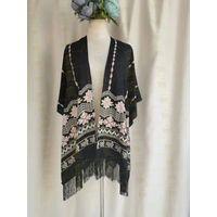 Tassel shawl1