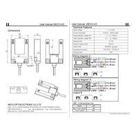 WECO-K3 photoelectronic switch