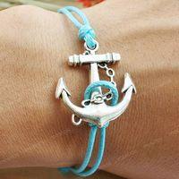 Handmade high fashion anchor bracelet