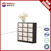 small 12 door metal locker with modern design for sale