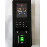 Facial and fingerprint access control F201