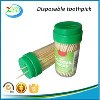 brich wooden toothpick with dispenser