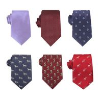 Fashion mens silk wide tie thumbnail image