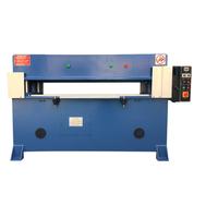 Four column hydraulic cutting machine for leather making