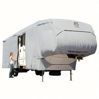 5th Wheel RV Cover non woven cover caravan cover All Weather Protection Caravan Cover