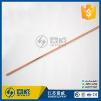 Pure Copper Ground Rod for Earth System thumbnail image