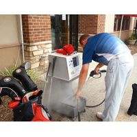 GOLF CLUB STEAM CLEANER