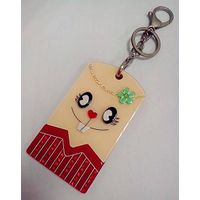 Fashion Jewelry Smile Face Key Ring