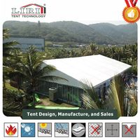 Hot Sale aluminum frame white marquee tent for international meeting events