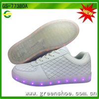 Hot selling popular usb led shoes