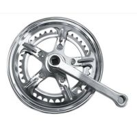 Chainwheel & crank, chainwheel with color flap, 36 T /170mm crank with color cover