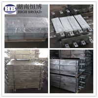 Aluminum anodes