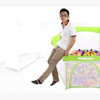 Round Metal Rectangle Baby Playpen / Baby Play Yard / Baby Cot thumbnail image