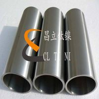 Nickel 200 UNS N02200 Nickel based alloy welded tube