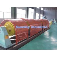 Tubular stranding machine for twisting copper strand