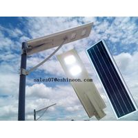 25W with PIR motion sensor all in one solar street lights