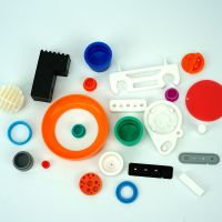 customize Any shape silicone rubber components rubber stap bands cap feet sleeve thumbnail image