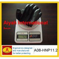 Nitrile glove 13g polyster liner nitrile glove CE standard coated glove