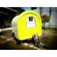 snack street vending  food trailer, mobile food cart