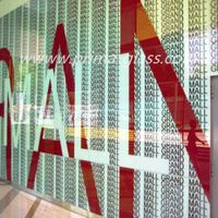 Dip tech photo printing on glass digital printing glass
