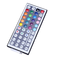 44-key LED dual-output RGB lamp band controller LED seven-color controller thumbnail image