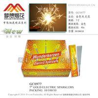 "7"" spaklers    dream fireworks"