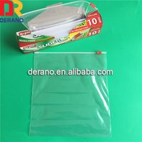 China suppliers cheap custom ldpe slider bags for packaging