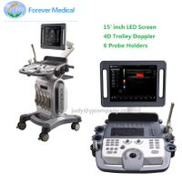 Full Digital 4D Trolley Ultrasound Scanner Color Doppler ECho Doppler