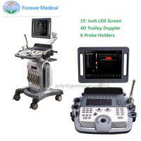Full Digital 4D Trolley Ultrasound Scanner Color Doppler ECho Doppler