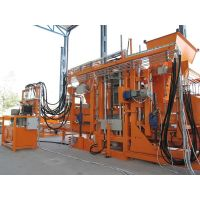 Highly Productive R-1500 (3000 blocks/hour) Stationary Block Machine