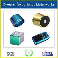 China Supplier Hot Selling Factory Price Aluminium Mini Audio Housing