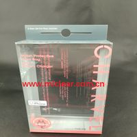 USB data line PET packaging box, PVC clear PP plastic box