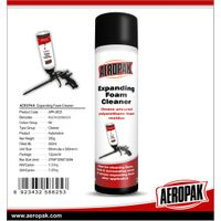 AEROPAK 500ml Expanding Foam Cleaner$Remover