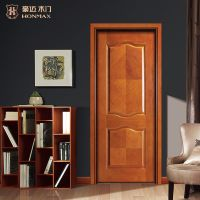 HONMAX modern high quality interior delicate solid wood door