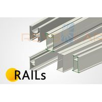 Aluminum Rails Al6005-T5 For Solar Mounting systems