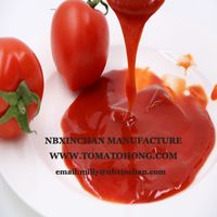 Tomato Ketchup with Glass Bottle