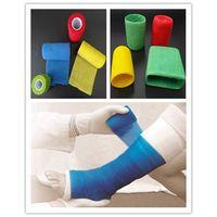 color fiberglass polyester orthopedic casting tape