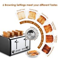 Colorful Stainless Steel Toaster ST006 thumbnail image