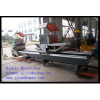 CNC Double Head Cutting Saw for Aluminum Win-doors Manufacturer